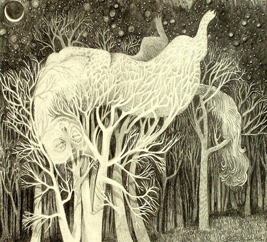 Dreaming Spirit by ElaineThompsonArt