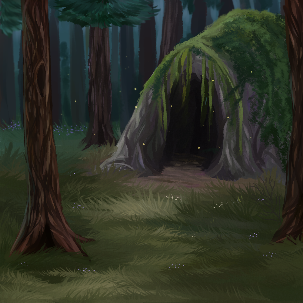 Mysterious Cave [catwar] by KamoFalcon