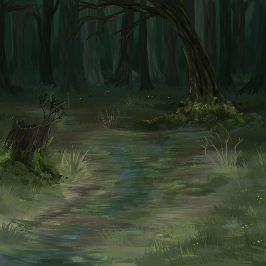 Muddy trail by KamoFalcon