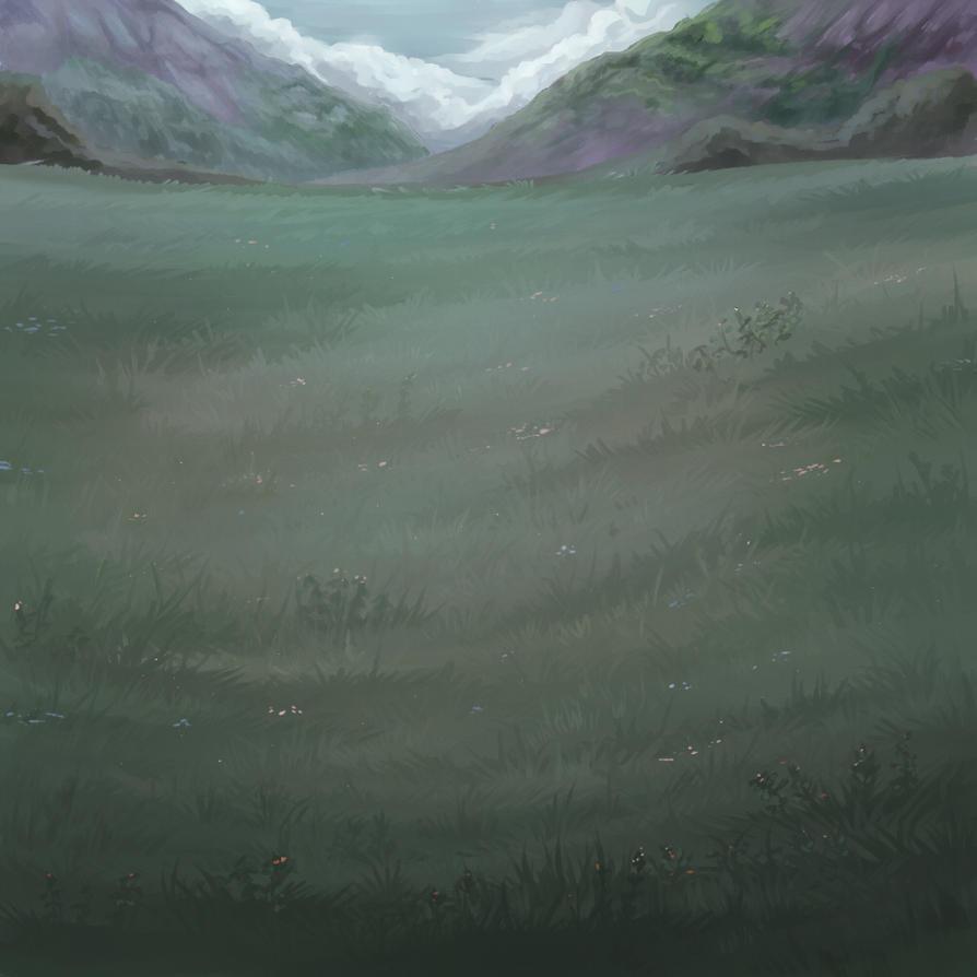 the grey meadow by KamoFalcon