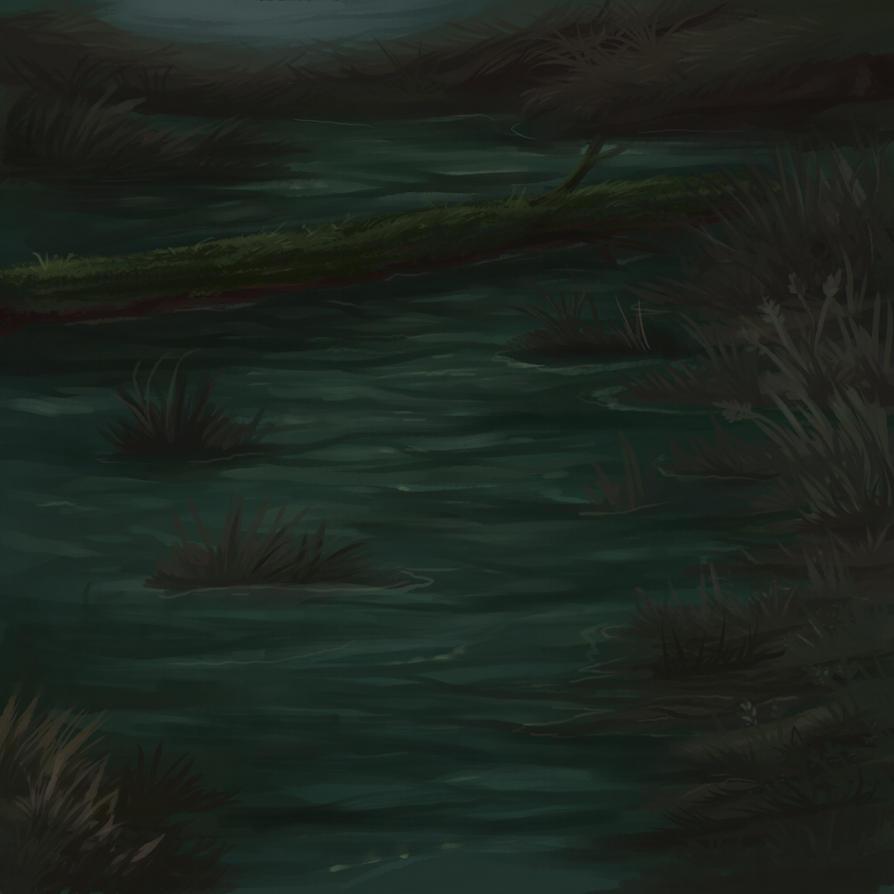 black swamp by KamoFalcon