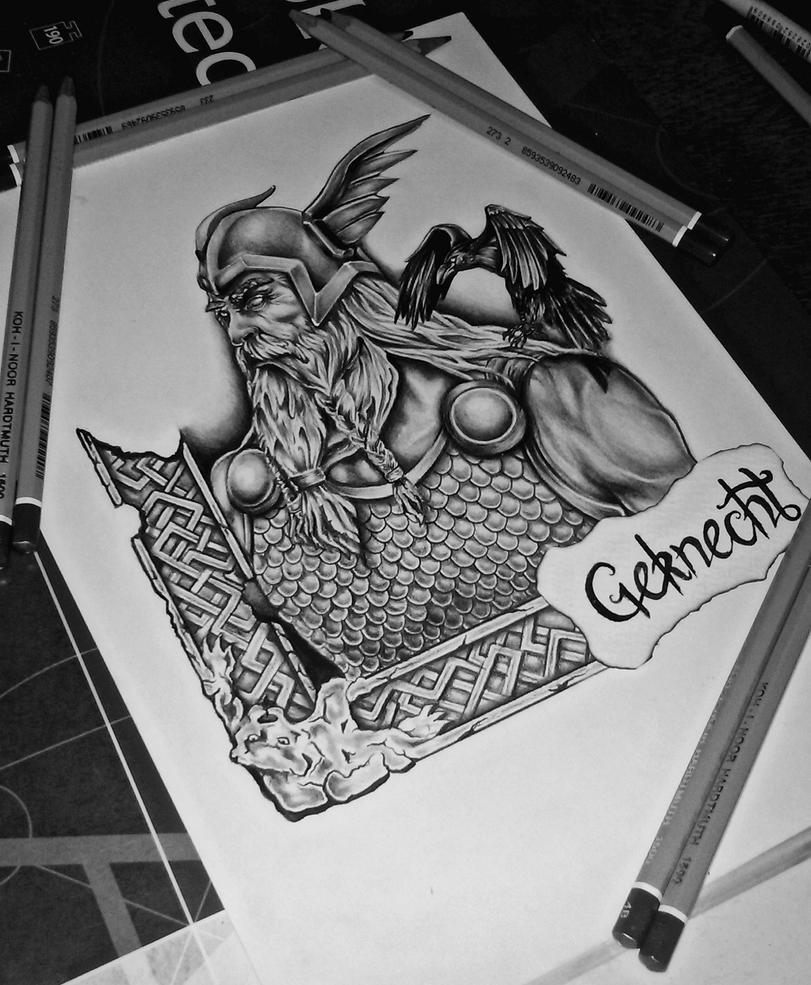 Odin by Geknecht