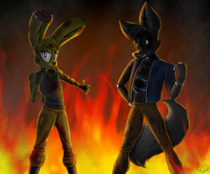 (fnaf) We Are Imune Wildfire!!! by Dreamsa