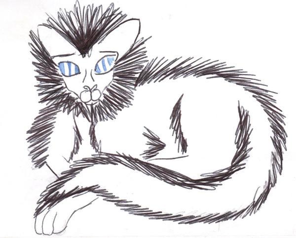 fluffy..my muse by Lyta-Silverstar