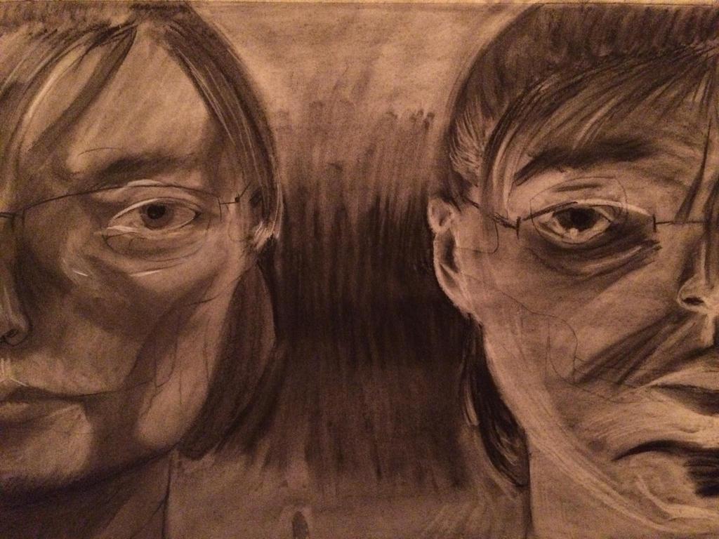Homework-self portrait by Lyta-Silverstar