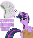 Twilight Sparkle Stopped Reading There