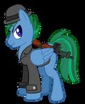 Fallout Equestria - Sabre Sparkblaze
