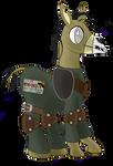 Fallout Equestria PNP - Donkey Ghoul NPC Token