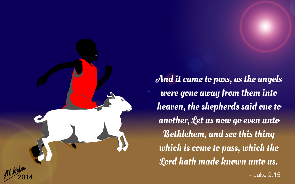 Christmas Card 2014 by NCWeber