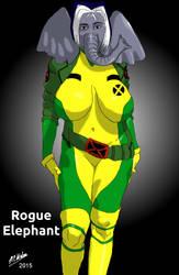 Rogue Elephant by NCWeber