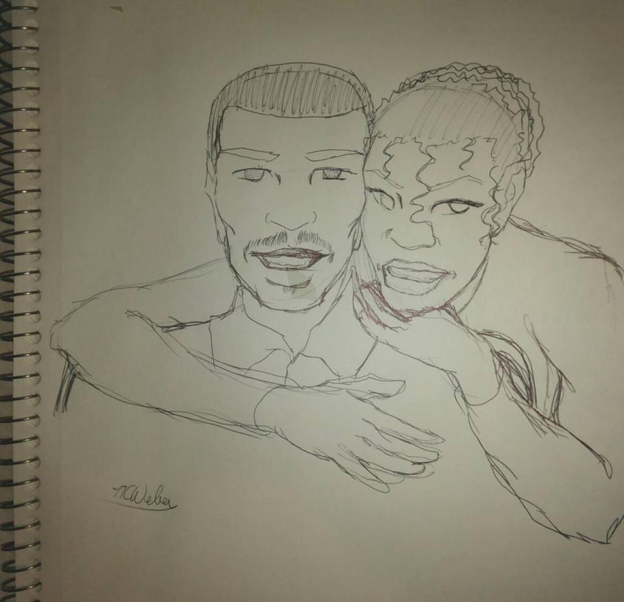 Valentine Sketch by NCWeber