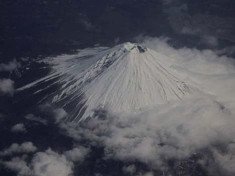 Fuji san From Above