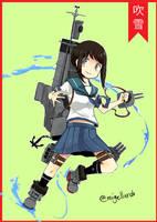 Fubuki Class Destroyer by kionist