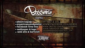 Bossman Graphic Wallpaper