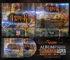 Asper - Egomanyak Album Cover DVD