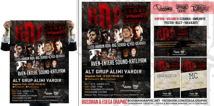 KNP Org vol 01 - Istanbul Poster Design