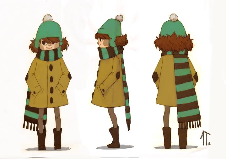 Character Turnaround by AlyssaTallent
