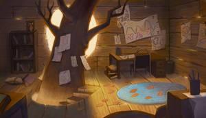 Treehouse by AlyssaTallent