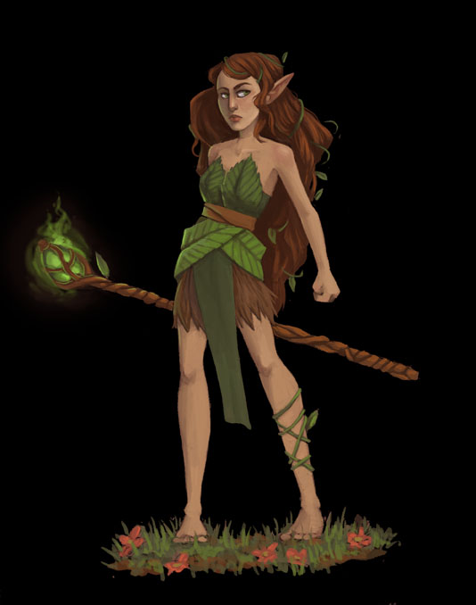 Green Mage Green Mage by AlyssaTa...
