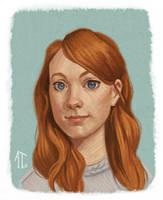 Portrait Practice by AlyssaTallent