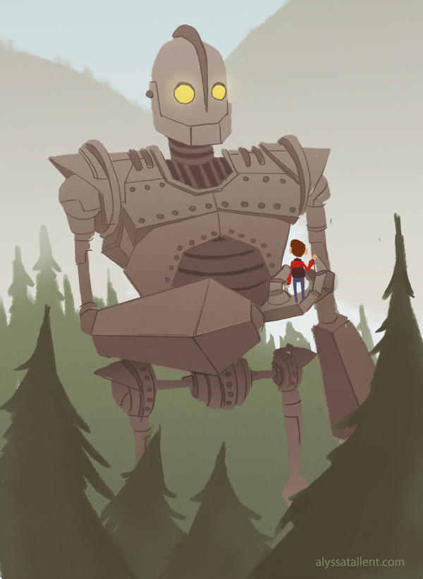 The Iron Giant by AlyssaTallent