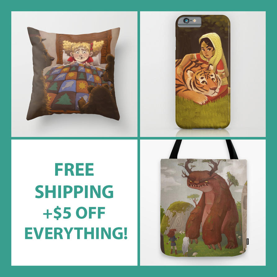 FREE SHIPPING + $5 off EVERYTHING by AlyssaTallent