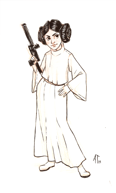 Princess Leia - VMAT 2014 by AlyssaTallent