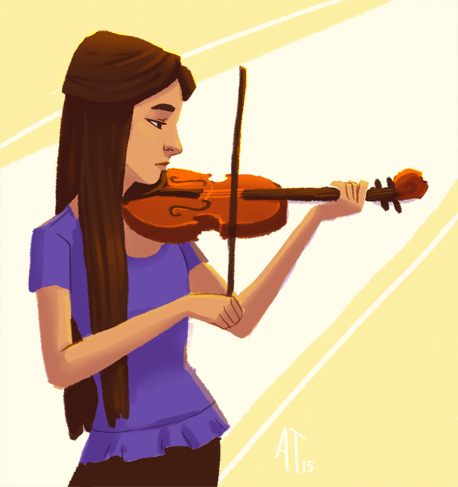 Violin by AlyssaTallent