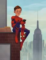 Spider-man by AlyssaTallent