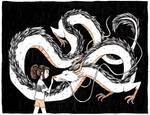 Dragon- Inktober Day 12