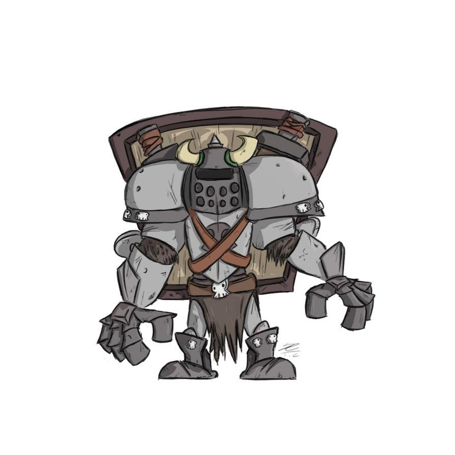 Orc Champion by TemplarOfBacon