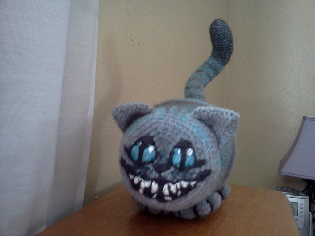 Cheshire cat amigurumi by coveredinyarn on deviantart cheshire cat amigurumi by coveredinyarn bankloansurffo Image collections