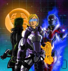 Mass Effect Engineer by shumworld