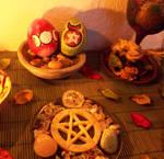 Merry Ostara by DeadPeppermint