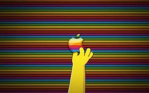 Apple Simpsons Wallpaper by pleasingfalsetto