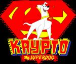 Krypto The Superdog TV Show Logo