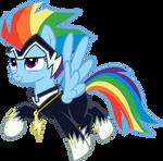 Rainbow Dash/Zapp Vector #1