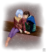 Although they are cold... by Shun-Takei