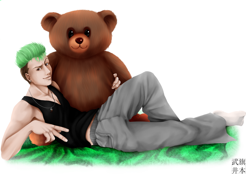 I am like a big brown teddy bear you say? by Takei-chan