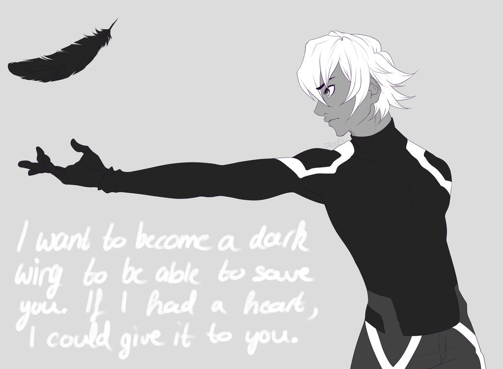 I want to become a dark wing... by Shun-Takei
