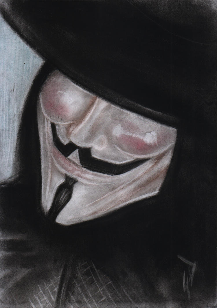 V for vendetta by gldzx