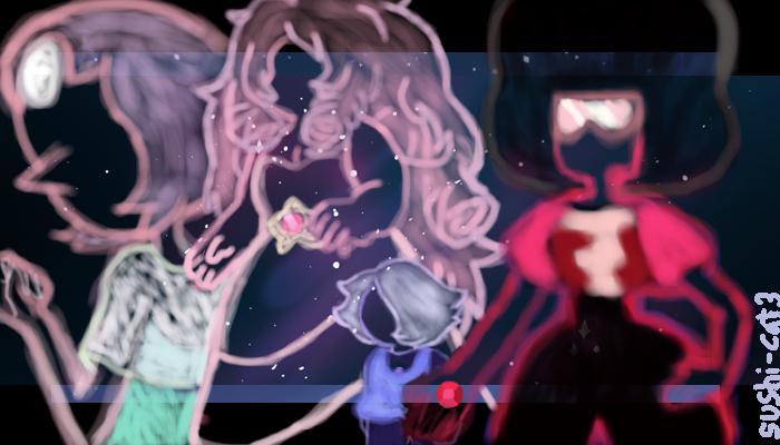 Steven Universe Fan Art-Also background by sushi-cat3