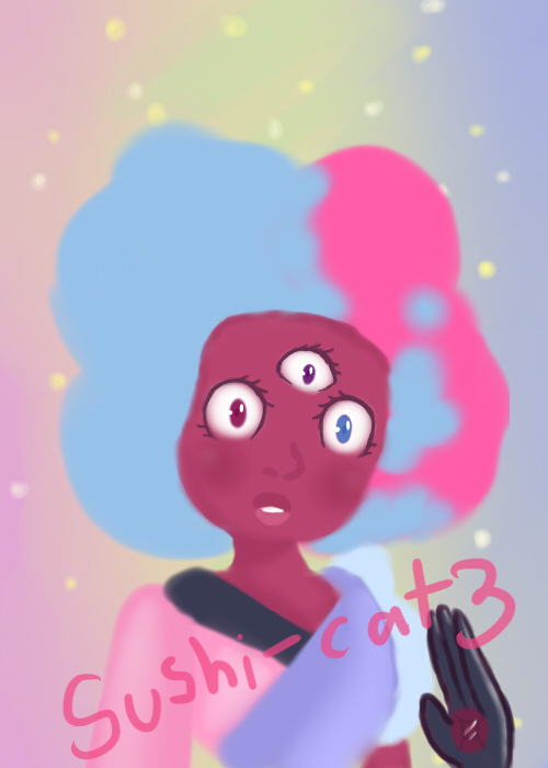 (Steven Universe) Someone Entirely New- Garnet by sushi-cat3