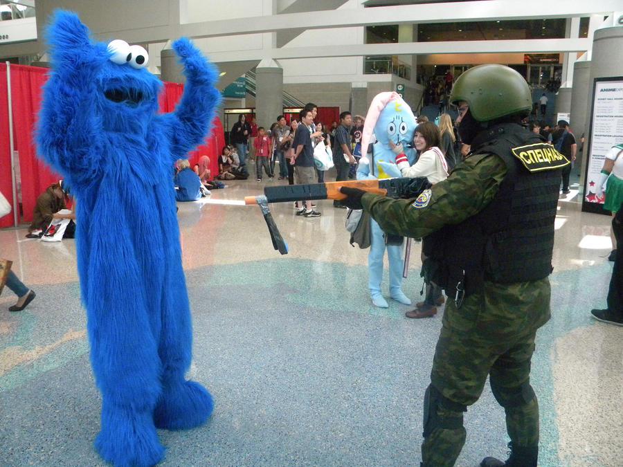 Cookie Monster Arrested