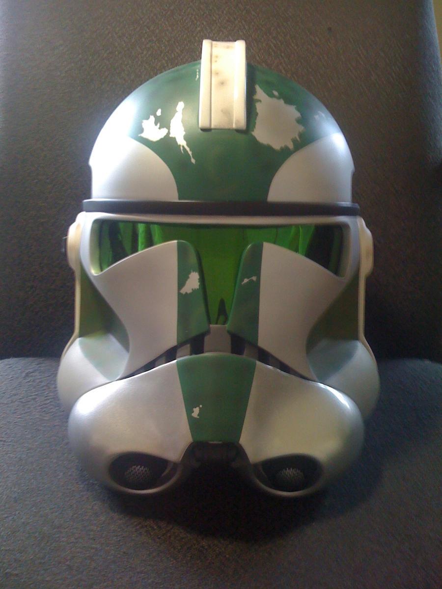 Gree helmet phase 2 by Ghost141
