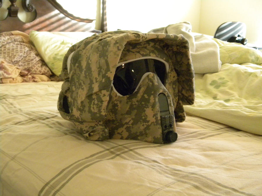 ACU Scout custom Helmet by Ghost141