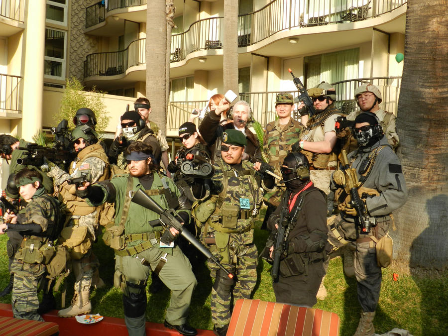 Modern Warfare and Battlefield Gathering ALA 2012 by Ghost141