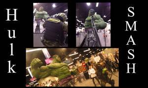 Fear O vision Hulk