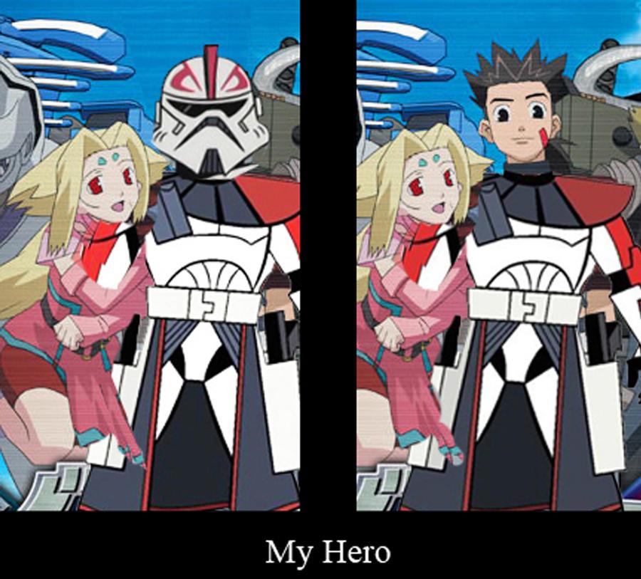 Van Flyheight Arc Trooper and Beyond by Ghost141
