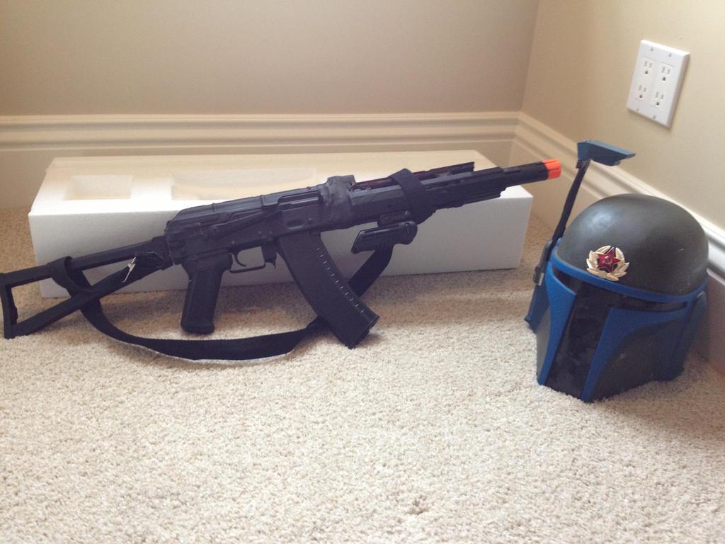 Broken Dboys AK Changed to Saiga/Scifi AK/ Nerf by Ghost141